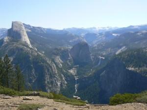 Een uitzichtpunt van de zovelen van Glacier Point