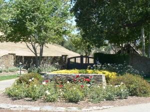 De ingang van Neverland Ranch