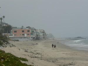 Malibu met zijn strandhuizen