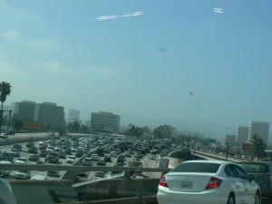 Traffic jam in L.A.
